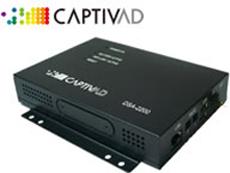 多機能デジタルサイネージソリューション CaptivAD